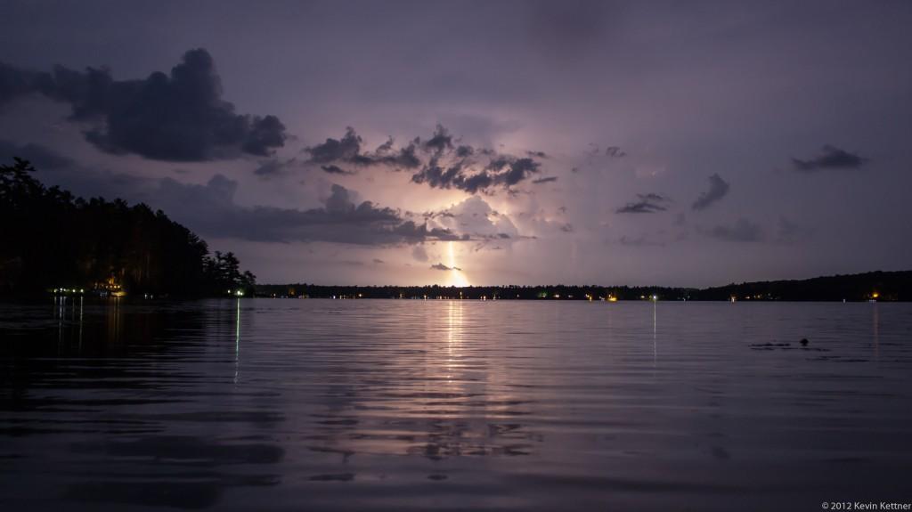 Post Lake Lightning